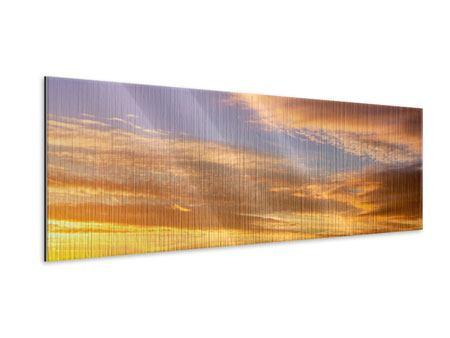 Metallic-Bild Panorama Himmlisch
