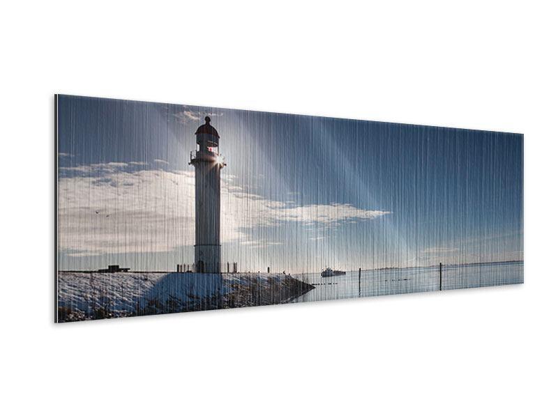 Metallic-Bild Panorama Sailing