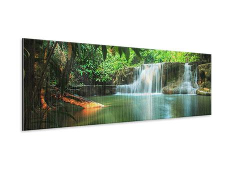 Metallic-Bild Panorama Element Wasser