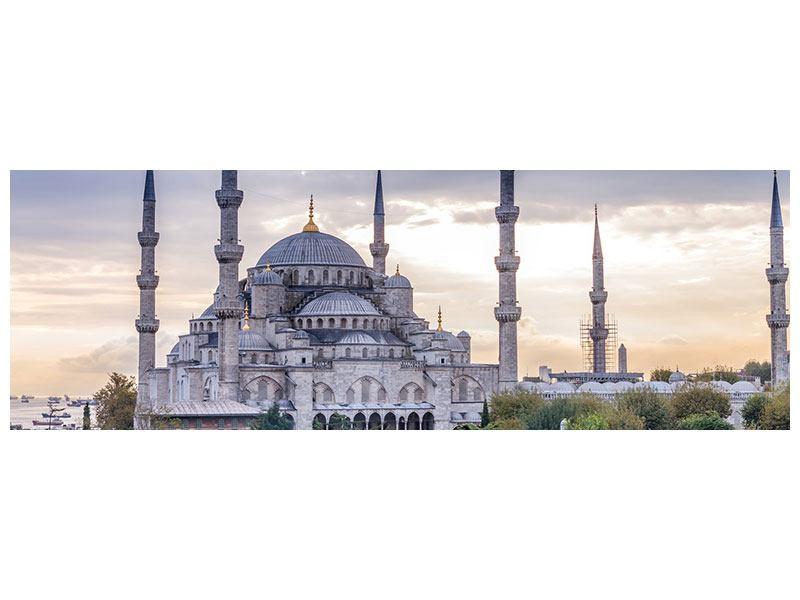 Metallic-Bild Panorama Istanbul