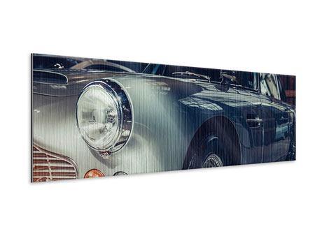 Metallic-Bild Panorama Classic Car