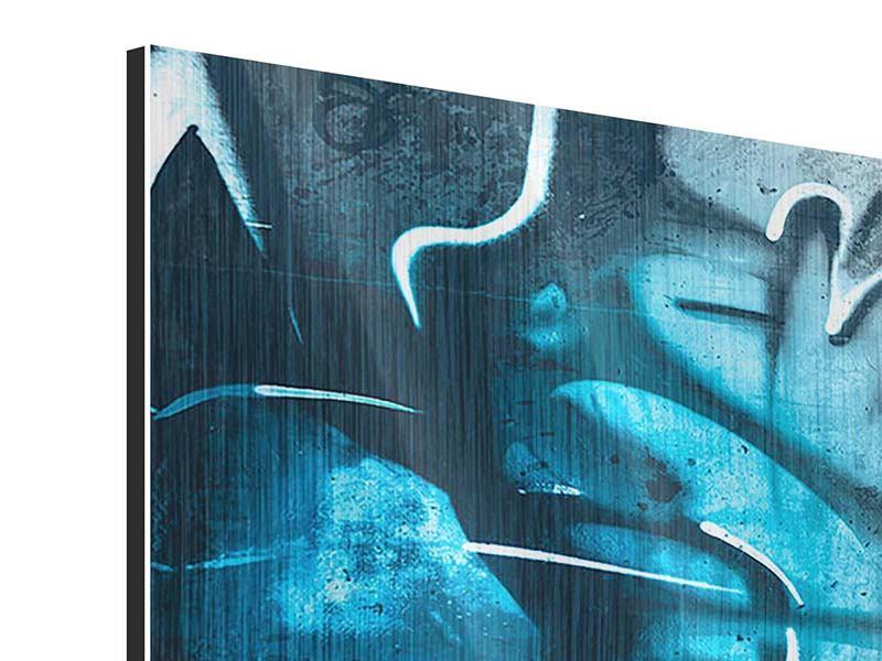 Metallic-Bild Panorama Painting On The Wall