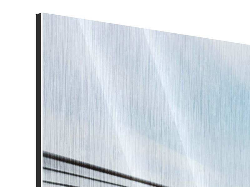 Metallic-Bild Panorama Rennwagen