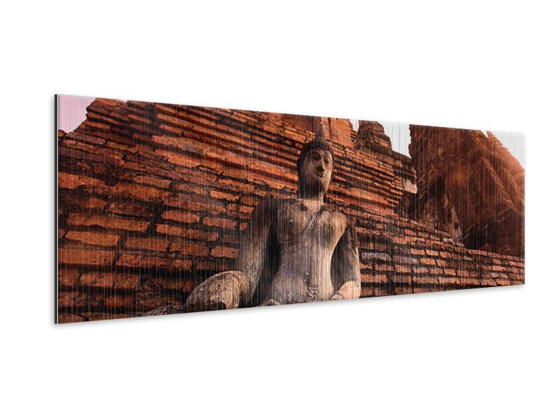 Metallic-Bild Panorama Sukhothai