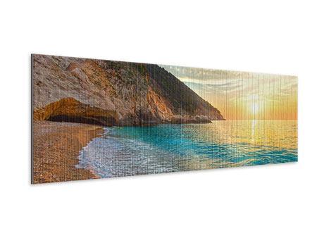 Metallic-Bild Panorama Aussicht