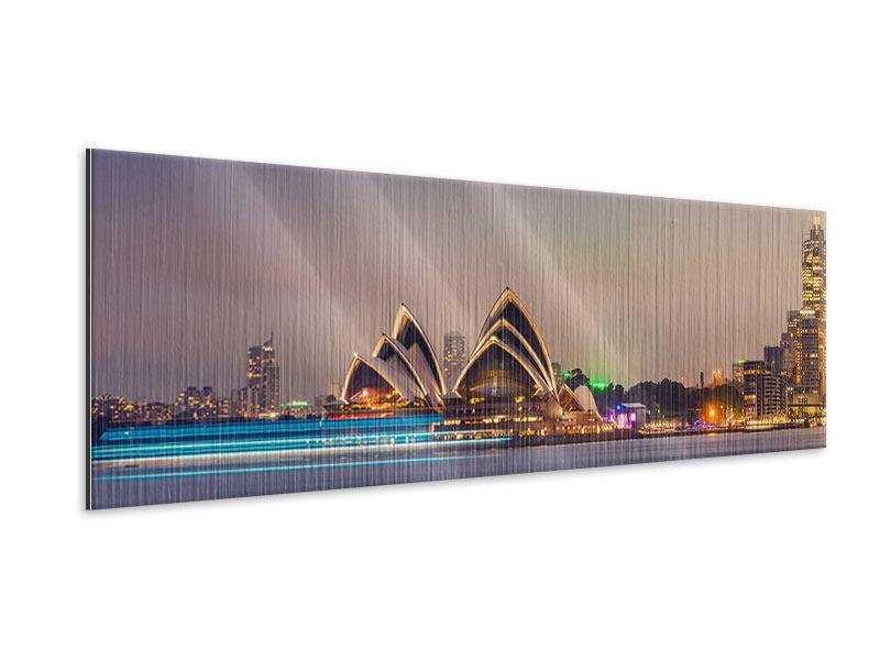 Metallic-Bild Panorama Opera House