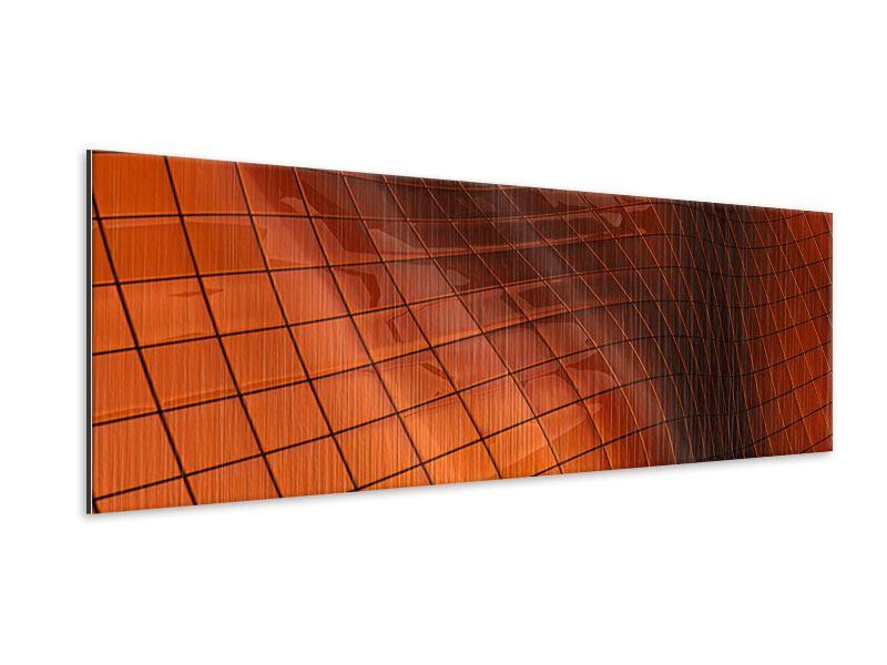 Metallic-Bild Panorama 3D-Kacheln