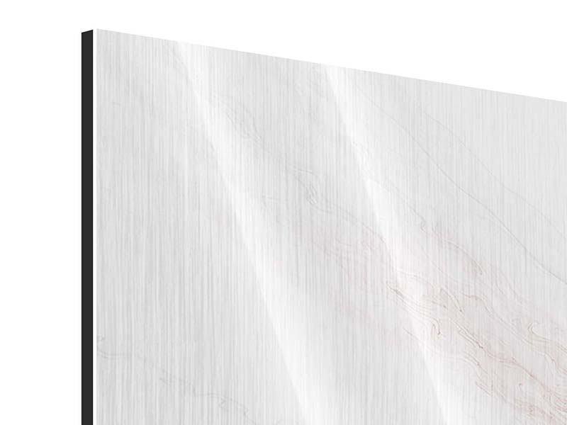 Metallic-Bild Panorama Herzspiegelung