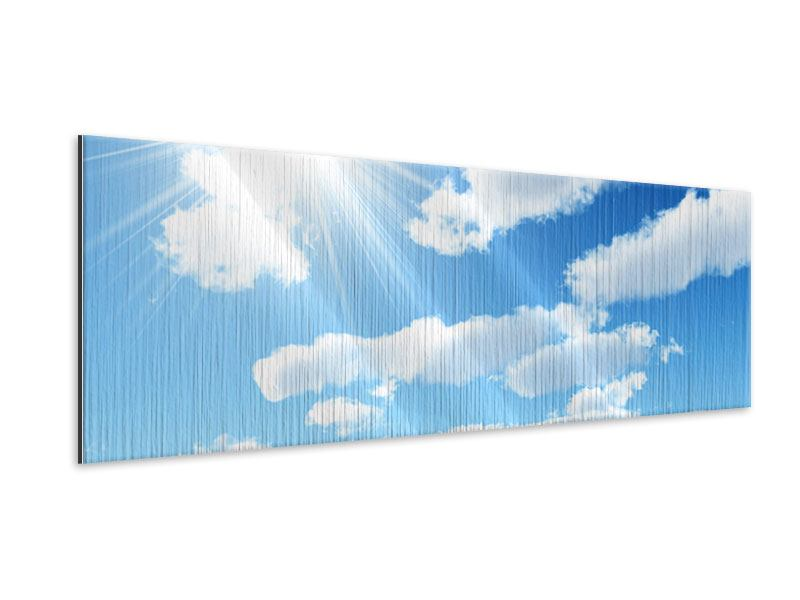 Metallic-Bild Panorama Am Himmel