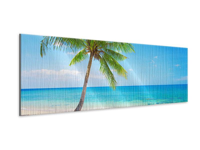Metallic-Bild Panorama Koh Lanta