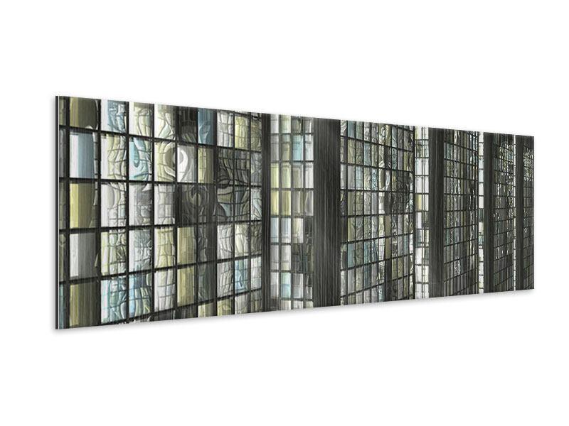 Metallic-Bild Panorama Windows