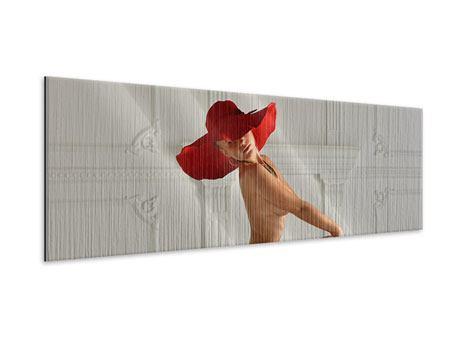 Metallic-Bild Panorama Nude-Diva