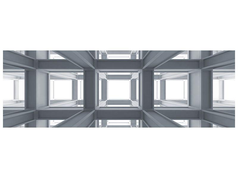 Metallic-Bild Panorama Räume