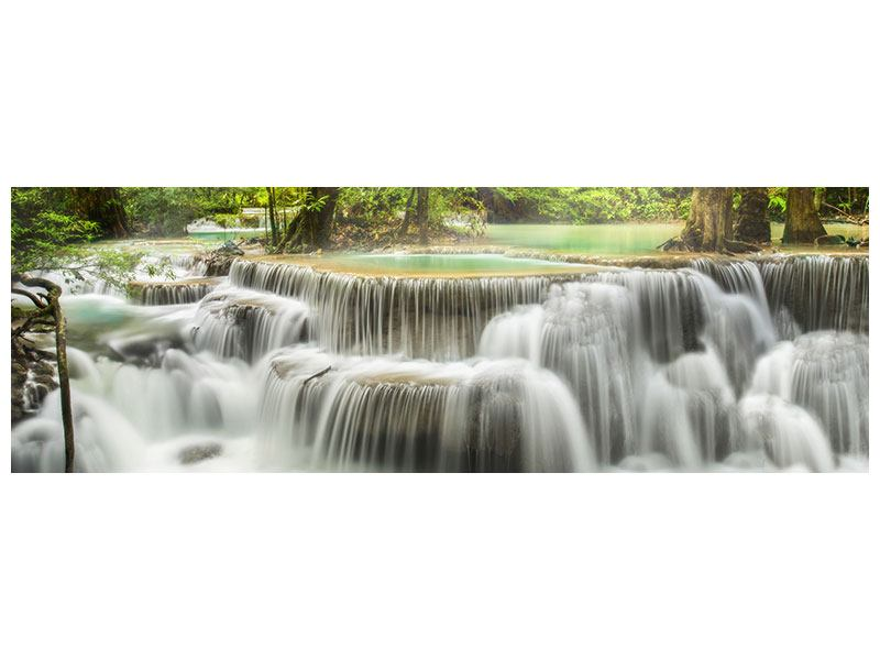 Metallic-Bild Panorama Erawan
