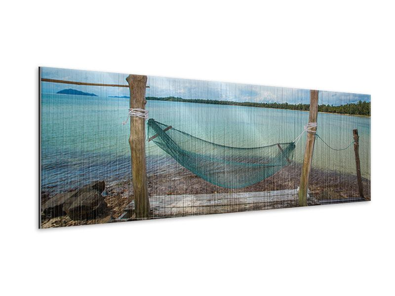 Metallic-Bild Panorama Hängematte