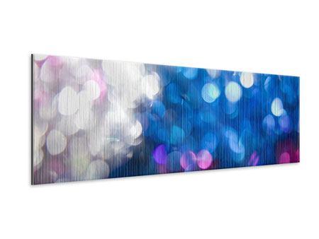 Metallic-Bild Panorama Abstraktes Licht