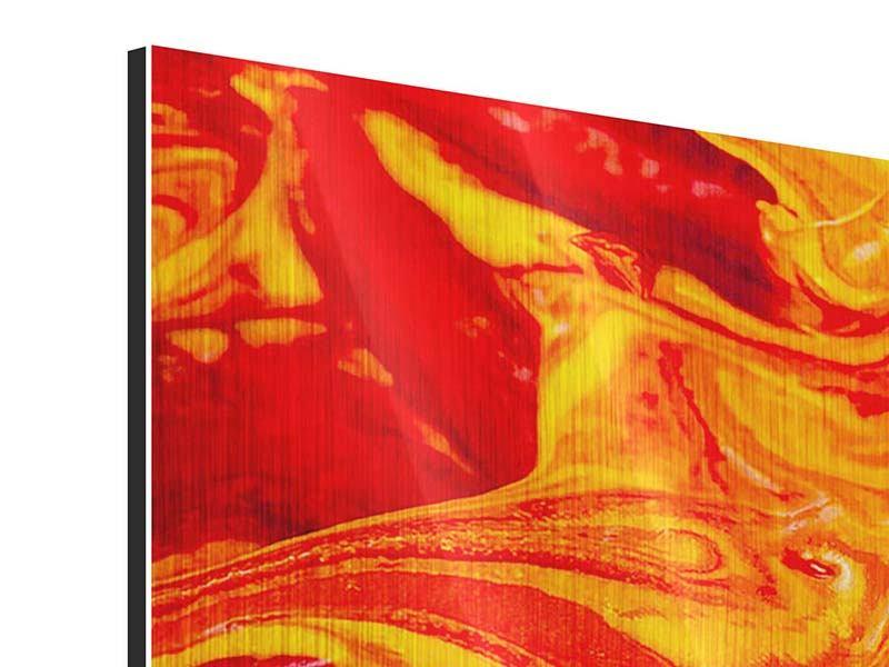 Metallic-Bild Panorama Wandgemälde