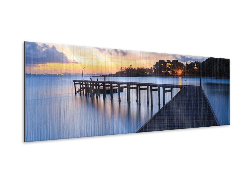 Metallic-Bild Panorama Inseltraum