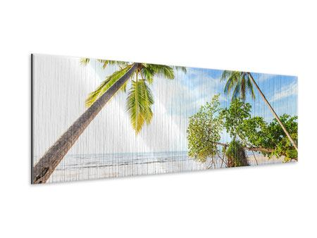 Metallic-Bild Panorama Bang Sak Bucht