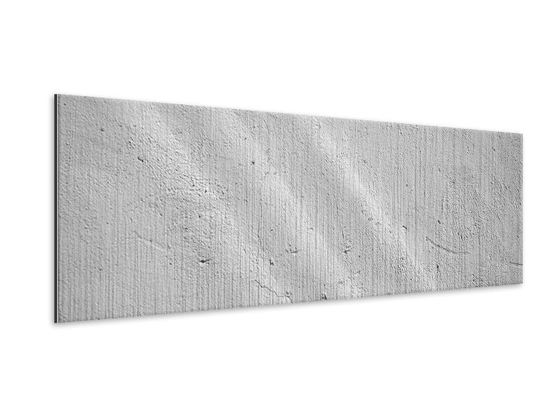 Metallic-Bild Panorama Beton