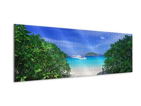 Metallic-Bild Panorama Similan-Inseln
