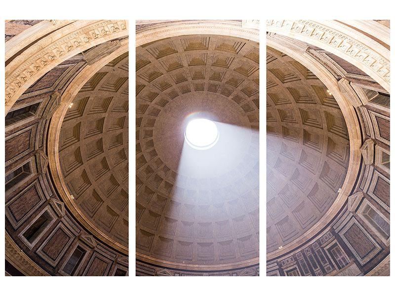Metallic-Bild 3-teilig Petersdom