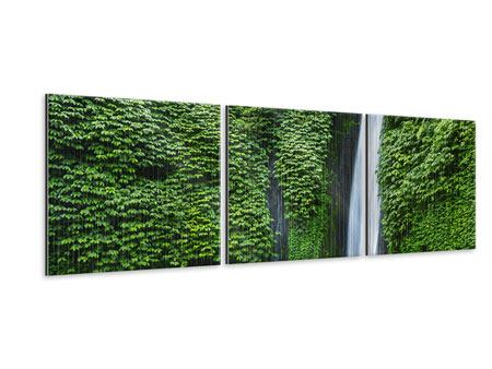 Panorama Metallic-Bild 3-teilig Lebensquelle