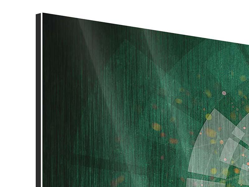 Panorama Metallic-Bild 3-teilig Der Kicker