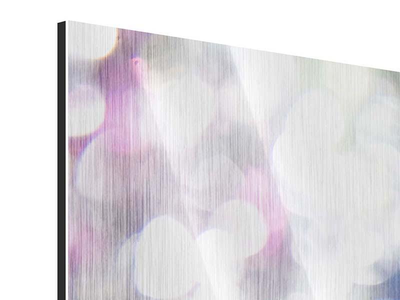 Panorama Metallic-Bild 3-teilig Abstraktes Licht