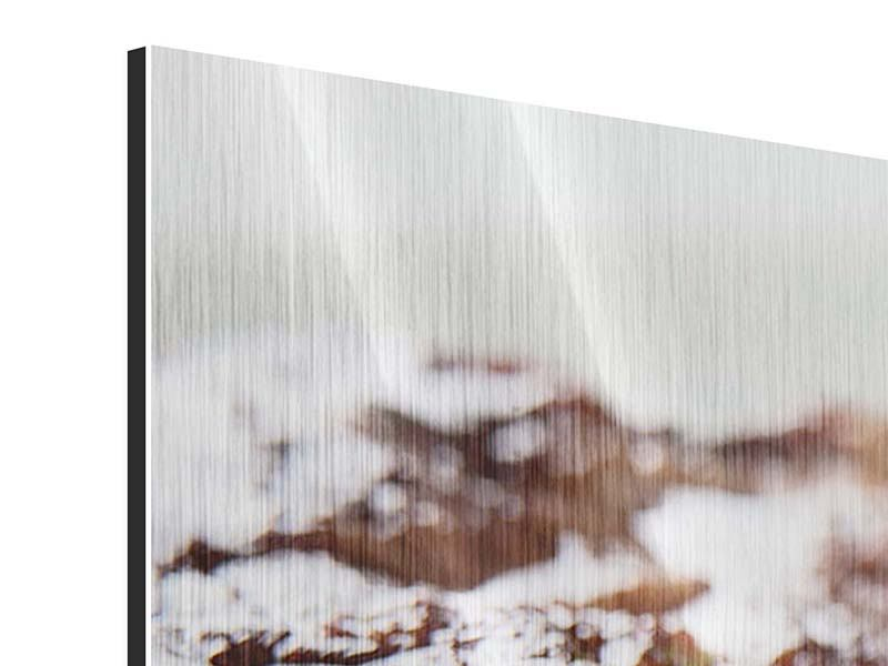 Panorama Metallic-Bild 3-teilig Perfektes Rindsfilet