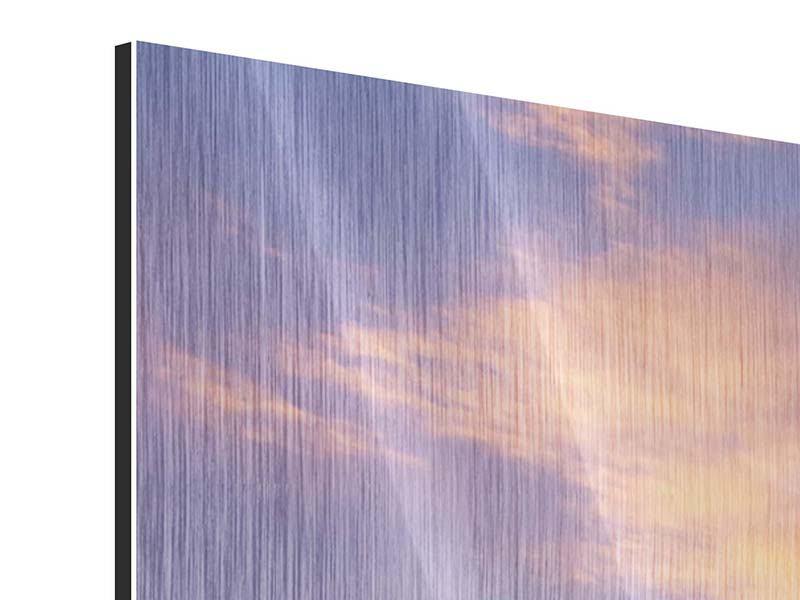 Metallic-Bild 3-teilig modern Himmlisch