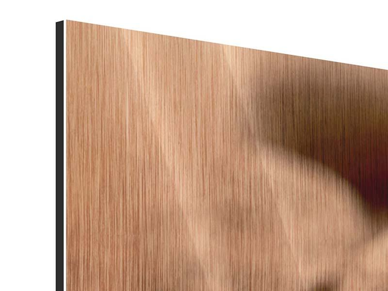 Metallic-Bild 3-teilig modern Trüffelpralinen