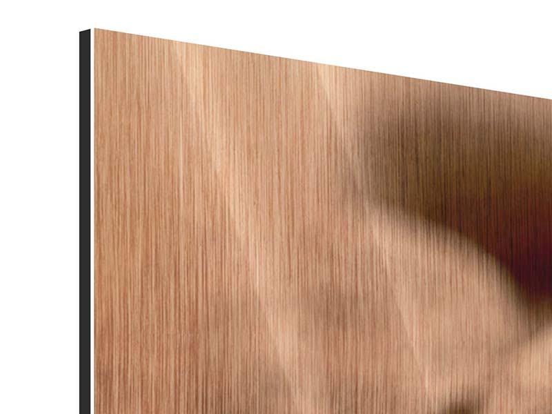 Metallic-Bild 4-teilig modern Trüffelpralinen