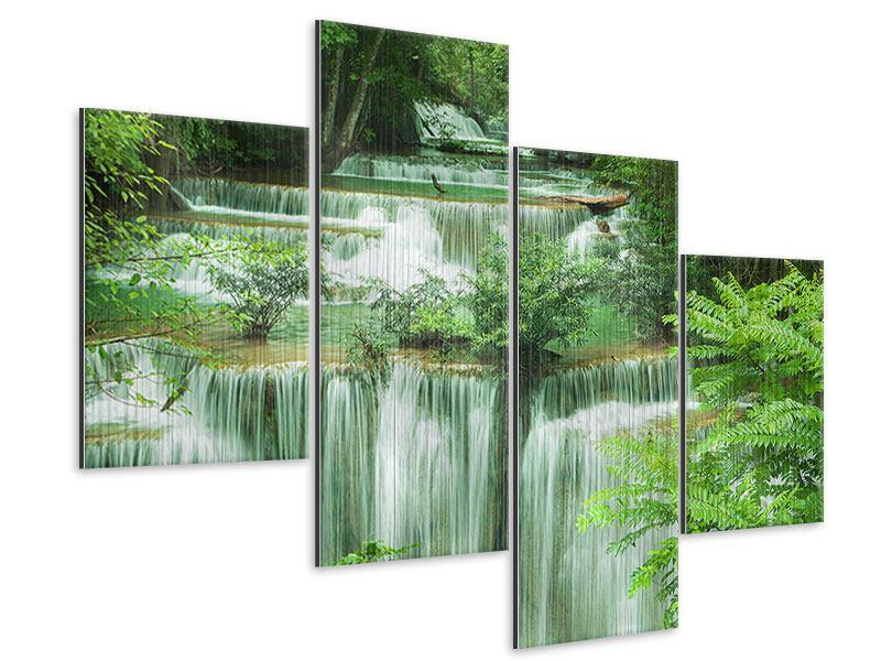 Metallic-Bild 4-teilig modern 7 Stufen in Thailand