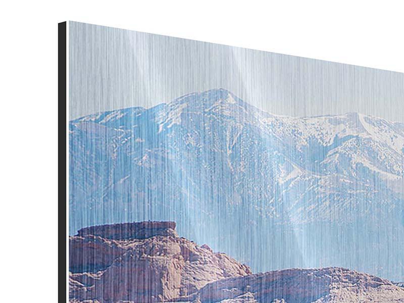 Metallic-Bild 4-teilig modern Bruce-Canyon-Nationalpark