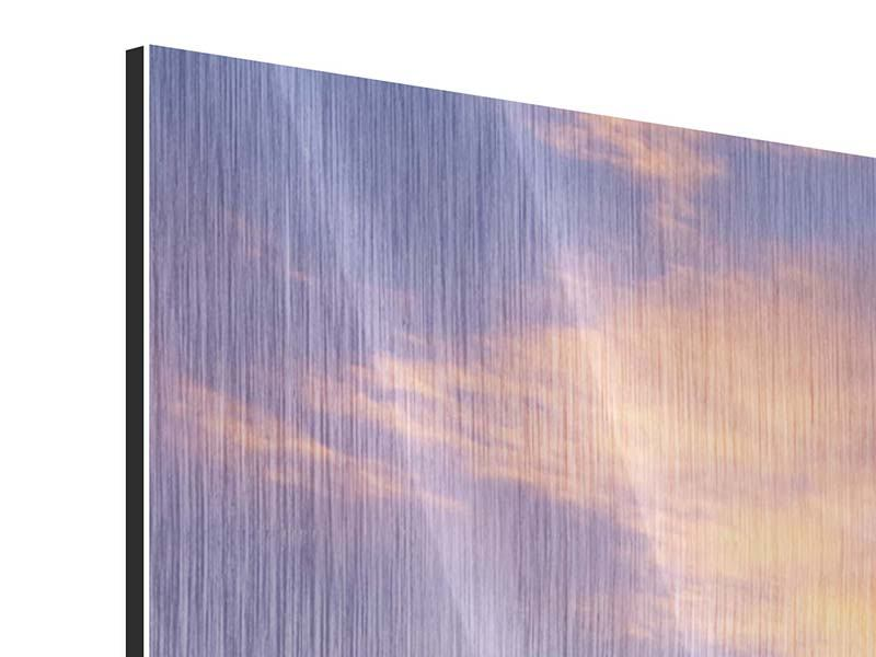 Metallic-Bild 4-teilig Himmlisch
