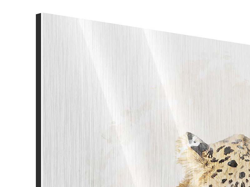 Metallic-Bild 4-teilig Luxgemälde