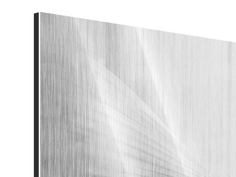 Metallic-Bild 4-teilig Engelsflügel