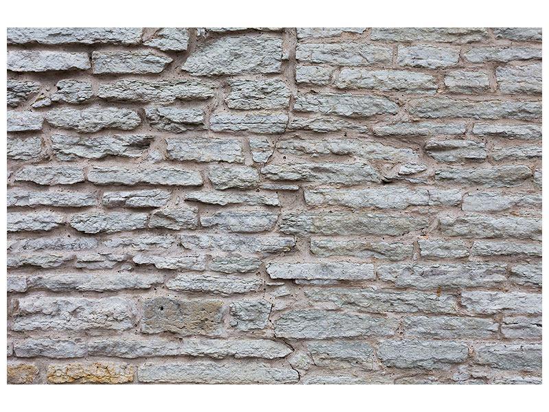 Metallic-Bild Steinmauer