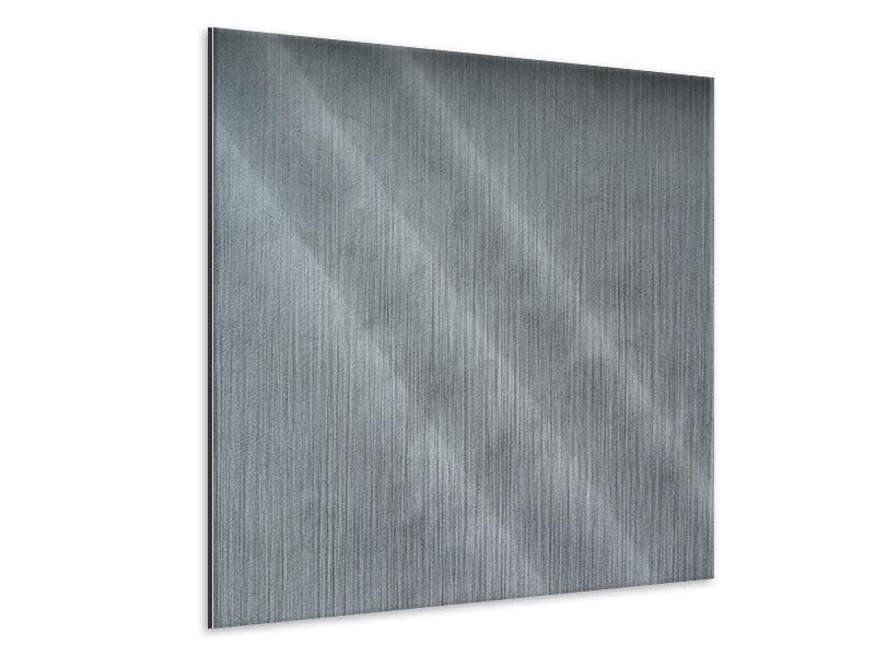 Metallic-Bild Dunkelgraue Wand