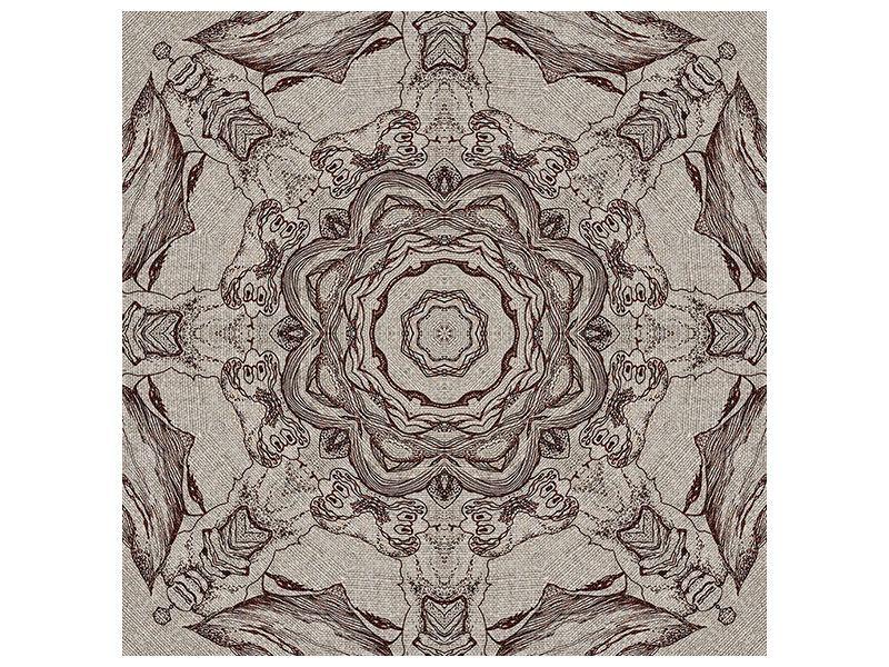 Metallic-Bild Retro-Style