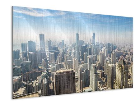 Metallic-Bild Wolkenkratzer Chicago