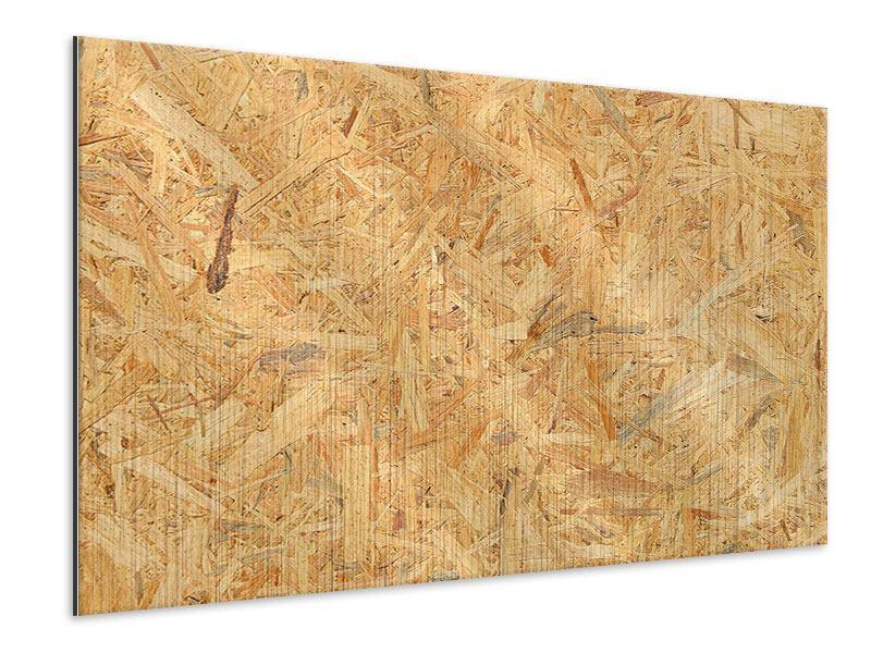 Metallic-Bild Gepresstes Holz