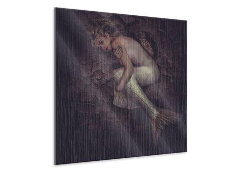 Metallic-Bild Meerjungfrau