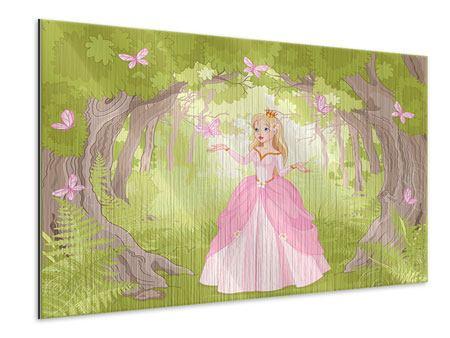 Metallic-Bild Princess