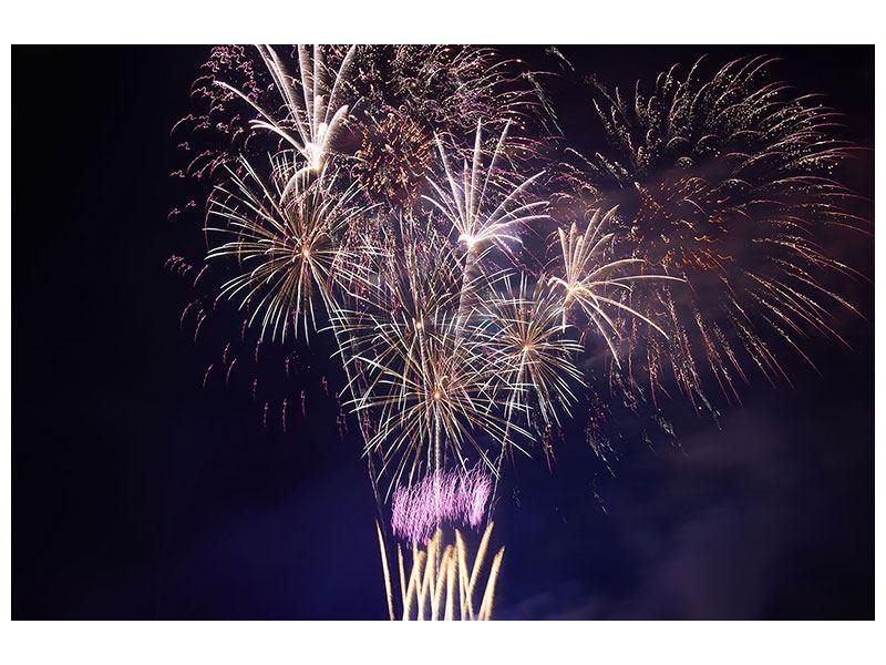 Metallic-Bild Feuerwerk