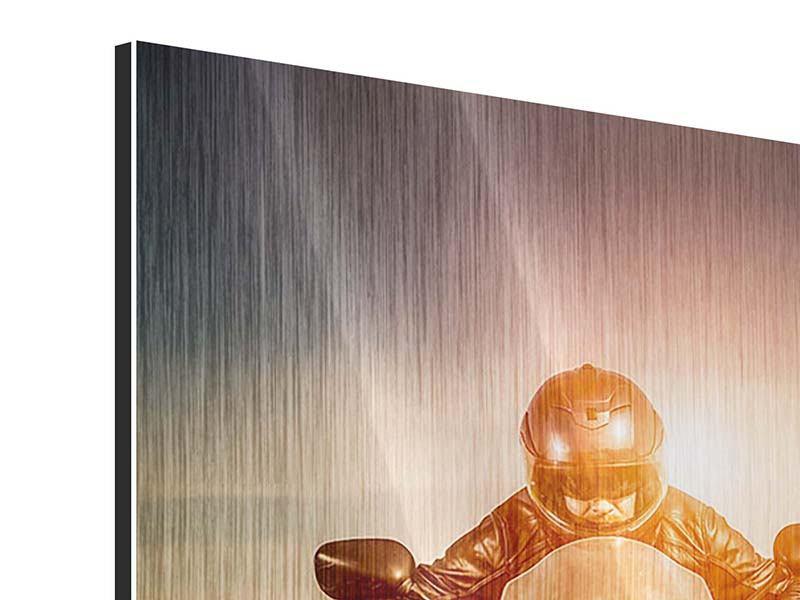 Metallic-Bild Geschwindigkeitsrausch