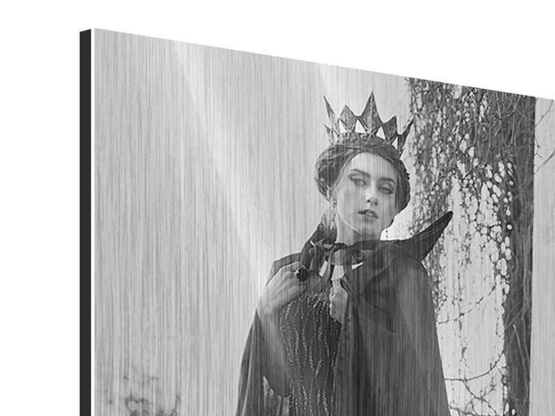 Metallic-Bild Die Königin