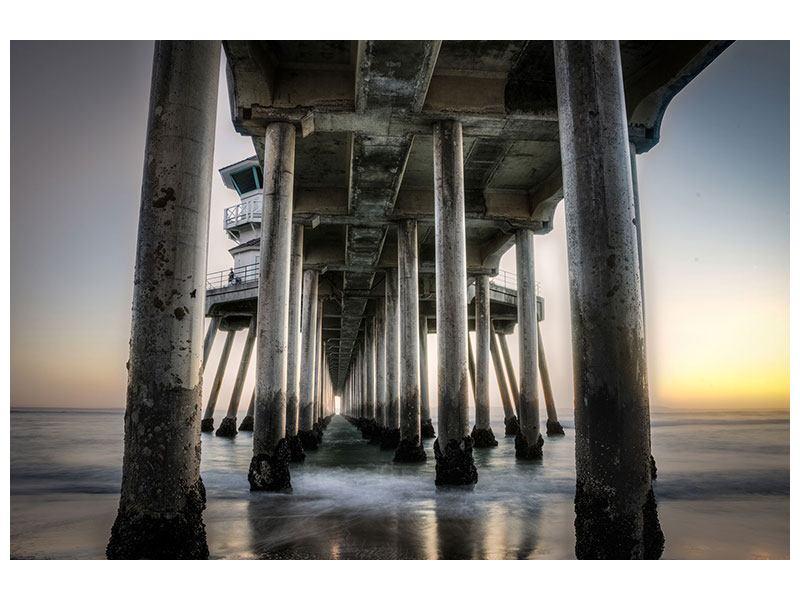 Metallic-Bild Brückenpfeiler
