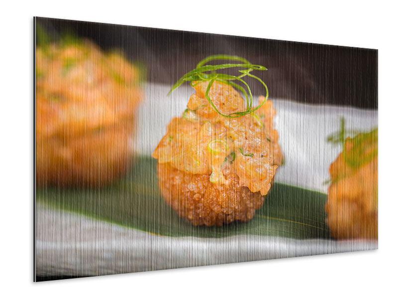 Metallic-Bild Asiatische Küche